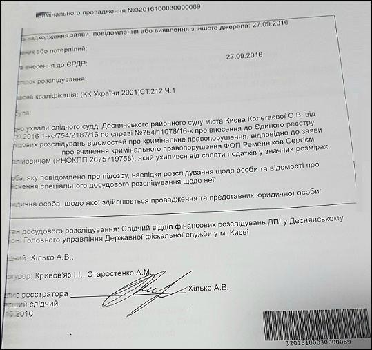 Ременніков Сергій Віталійович