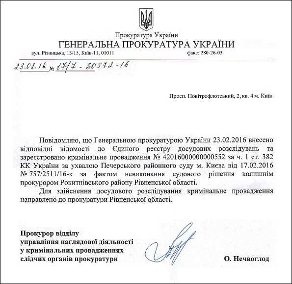 прокурор Скобух Іван Миколайович єрдр
