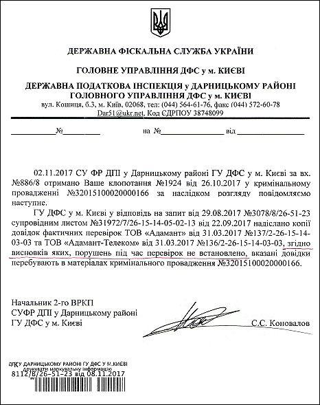 Коновалов С.С. перевірка