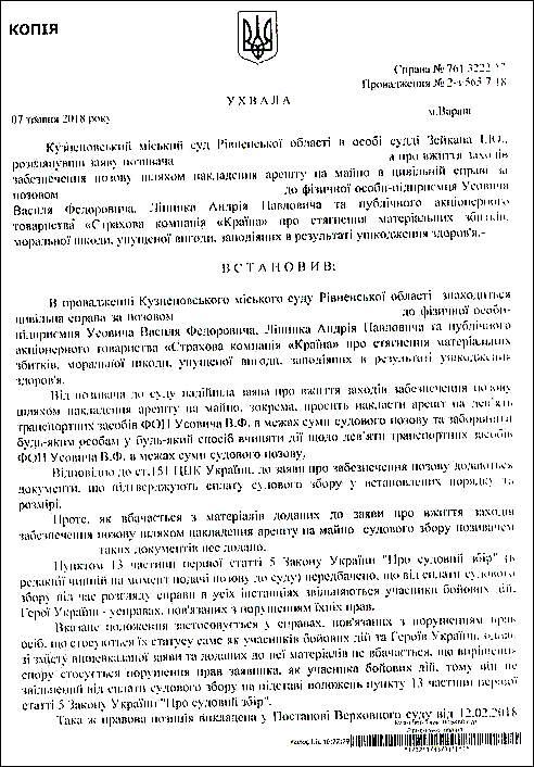 Суддя Зейкан Іван Юрійович шахрайство